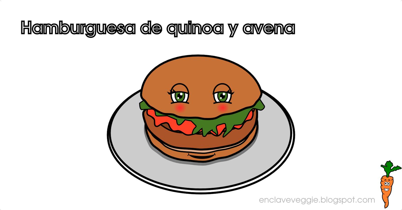 http://enclaveveggie.blogspot.com/2015/01/hamburguesas-de-quinoa-y-avena.html