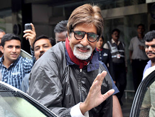 Amitabh Bachchan returns from London Olympic