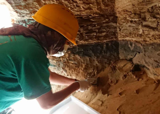 Graeco-Roman era tomb discovered in Egypt's Aswan