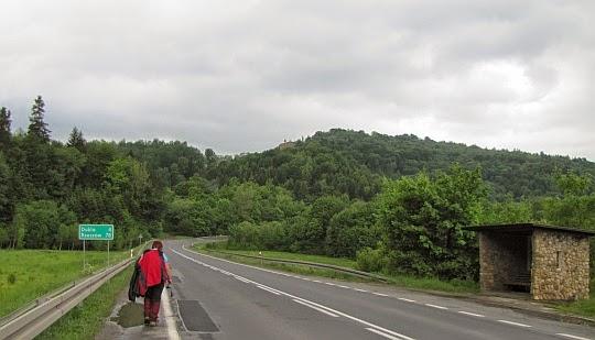 Droga krajowa nr 9 w Nowej Wsi.
