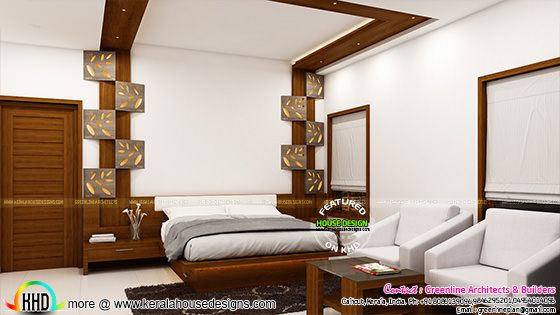 Interior designs of Master bedroom