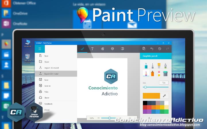 Instalar la nueva versión filtrada de Paint para Windows 10