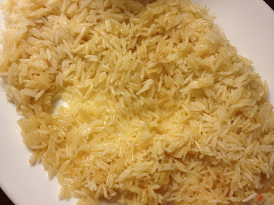 lazy cooked rice