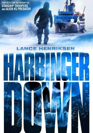 Poster of Harbinger Down 2015 BRRip 480p Dual Audio 300Mb