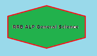 RRB ALP General Science
