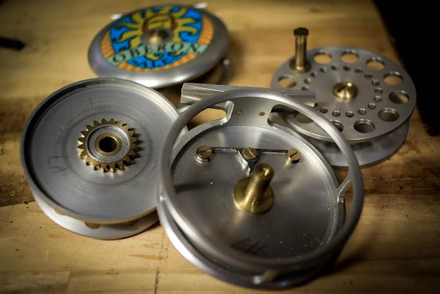 Tailor Made By V. Huttley - The Lucky 7 Oberon Fly Reels - Part 4