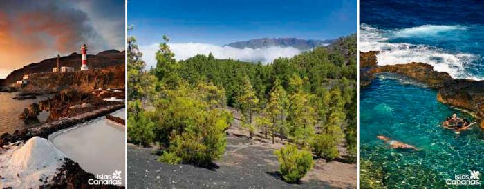 Islas Canarias, FUencaliente, El Paso, El charco Azul