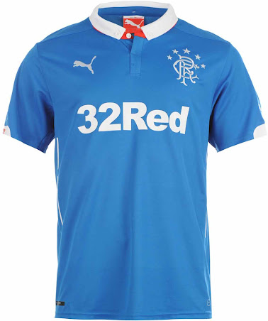 new style 13e72 fb228 New Glasgow Rangers 14-15 Home, Away and Third Kits - Footy ...