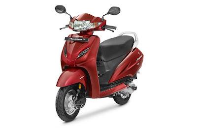 Honda Activa 4G Imperial Red Metallic