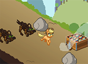 My little Pony Applejack in Zapple Hill juego