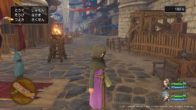 ドラクエXI PS4画面写真3