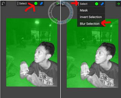Editing Membuat Efek Asap Rokok Berwarna android