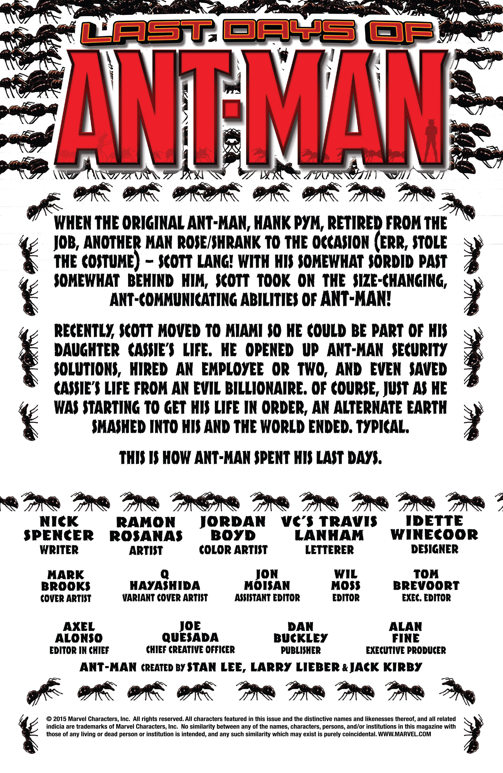 Read online Ant-Man: Last Days comic -  Issue #Ant-Man: Last Days Full - 2