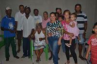 Professora levar educação para comunidade carentes em Cacimbinhas-AL.