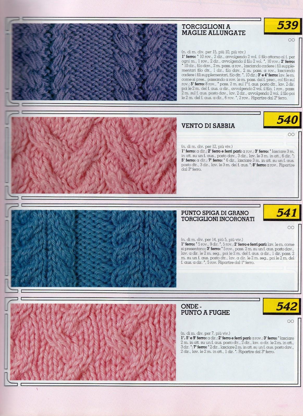 Lo Spazio Di Lilla Collezione Punti Ai Ferri 5 Knitting