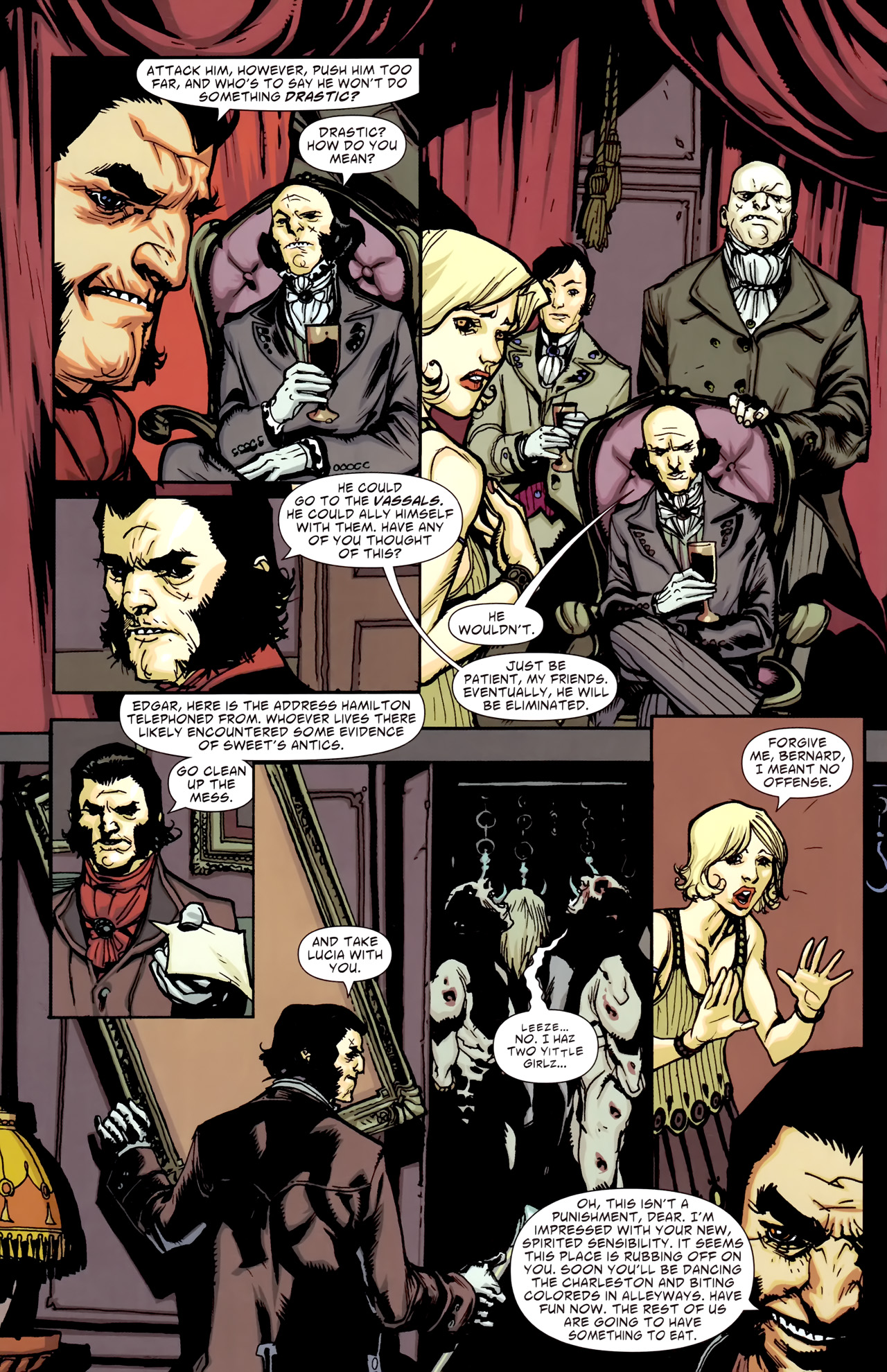 Read online American Vampire comic -  Issue #3 - 6