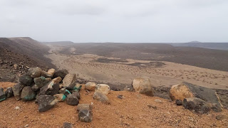Its very hot in the mountains of Djibouti