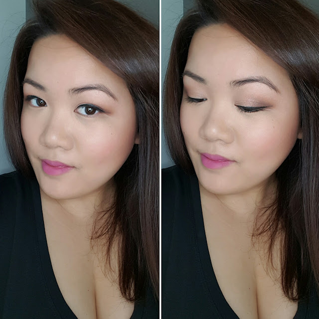 too faced totally cute palette lotd, motd, too faced melted matte lipstick in drop dead red and miso pretty