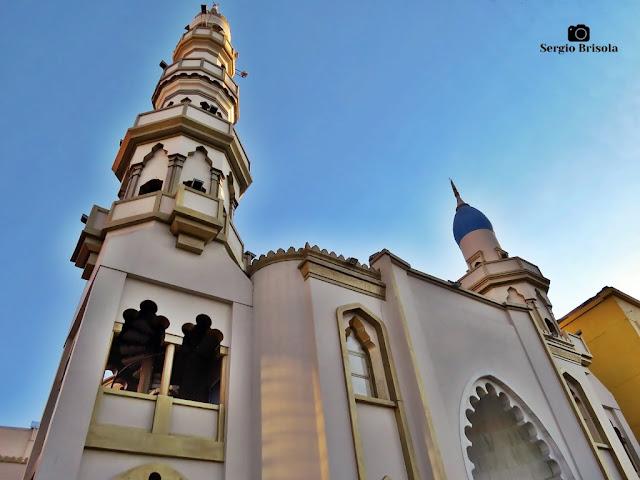 Perspectiva inferior da Mesquita Brasil - Cambuci - São Paulo