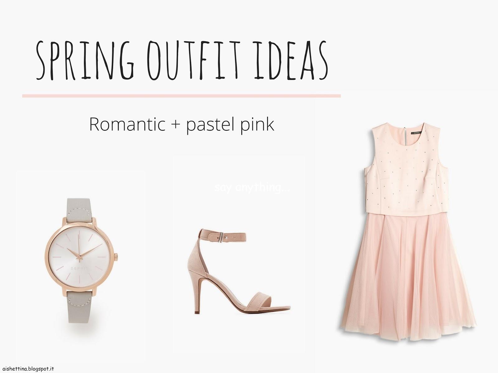 romantic + pastel pink
