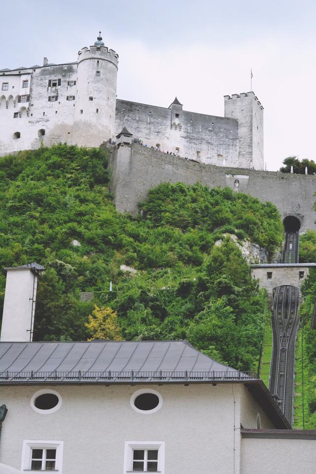 Hohensalzburg Fortress Furnicular