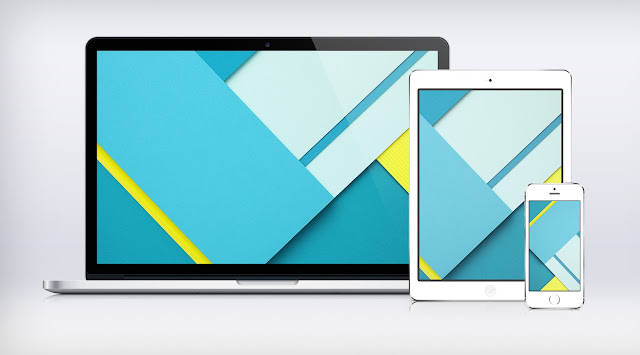 Android N Material Design Wallpaper for Computer Android Mobile Mac
