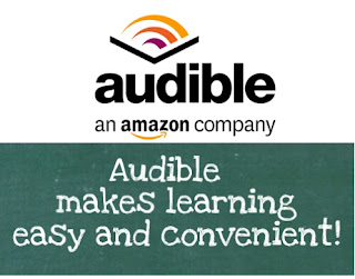 Audible audiobooks make learning easy and convenient