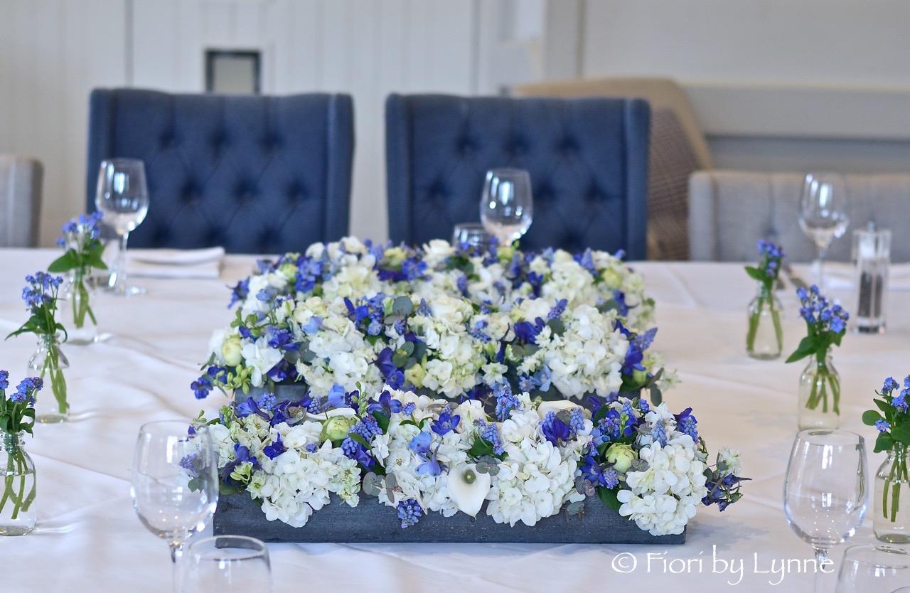 Wedding Flowers Blog Madeleines Pretty Spring Blue And White