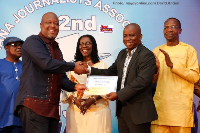 Sefa Kayi named Journalist of the Year, Graphic wins 8 awards