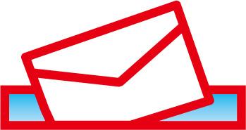 画像:メールのイラスト