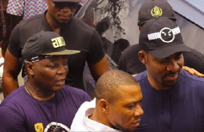Image result for Charly Boy, Deji Adeyanju Begin ANOTHER Sit-Out