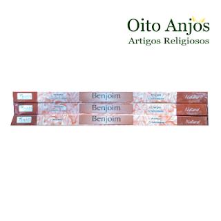Incenso Benjoim - Oito Anjos Artigos Religiosos e Loja Esotérica