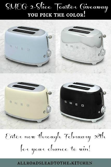 SMEG 2-Slice Toaster Giveaway