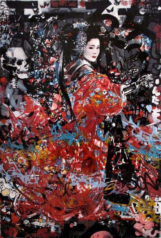 Уличный художник. Hush 19
