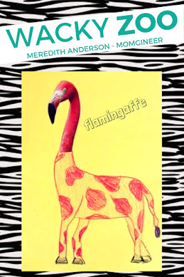 A flamingaffe? Wacky Zoo | Meredith Anderson Momgineer