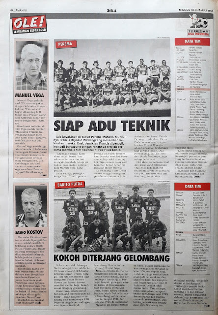 LIGA INDONESIA 12 BESAR LIGA INDONESIA PERSMA BARITO PUTRA SIAP ADU TEKNIK