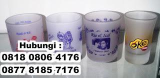 Souvenir Gelas Murah, Gelas Souvenir, Souvenir Gelas Nikah di Tangerang
