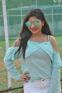 Madhulagna Das looks super cute in White Shorts and Transparent Top 74.JPG
