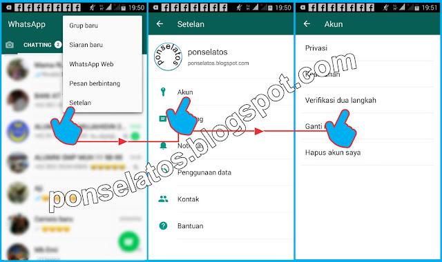Verifikasi 2 langkah, cara aktifkan Verifikasi 2 langkah whatsapp,