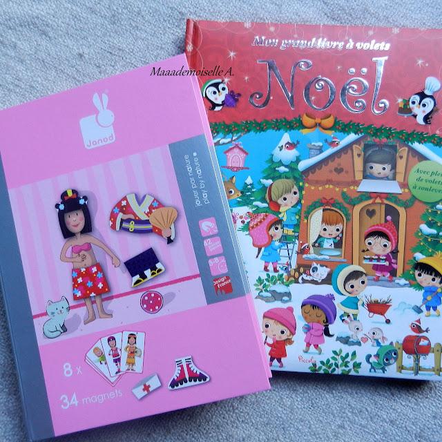 Magnéti'book et Mon grand livre à volets Noël