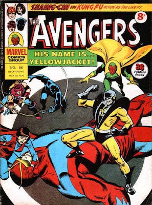 Marvel UK, Avengers #86, Yellowjacket