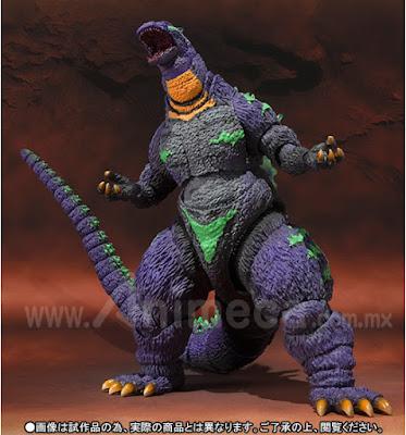 Figura Godzilla feat.EVA-01 Edición Limitada S.H.MonsterArts
