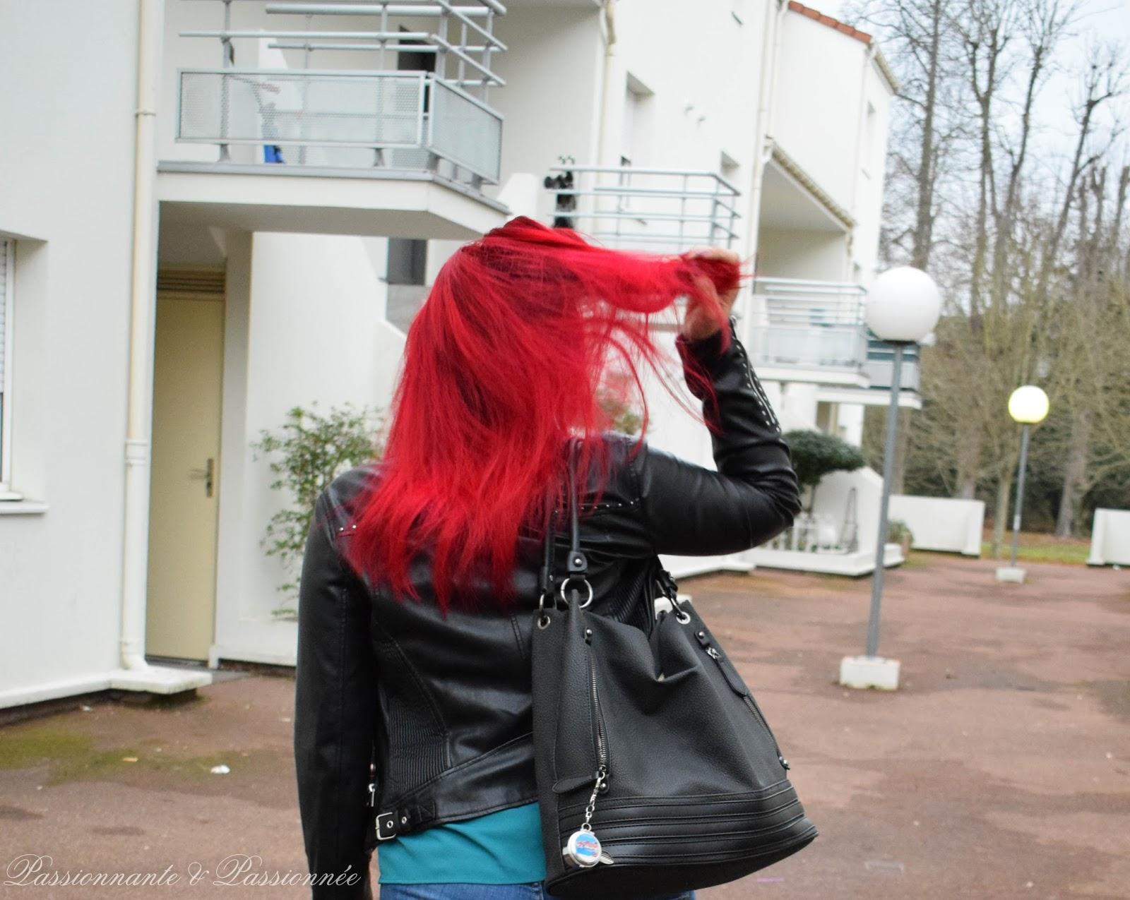 cheveux rouge façon ariel
