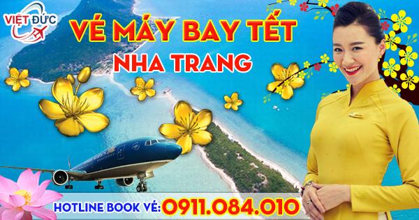 Vé Tết nguyên đán đi Nha Trang hãng Vietnam Airlines