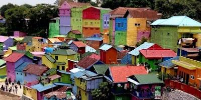 kampung warna warni jodipan di malang