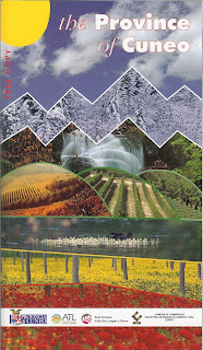 The Province of Cuneo (Blu Edizioni) Libro and Il Cuneese Mappa