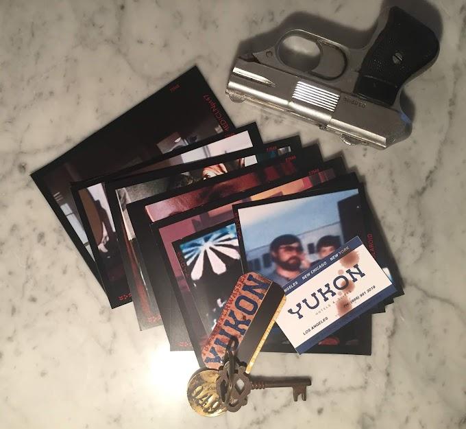Blade Runner Leon's Precious Photos, Yukon Hotel Room Key and Business Card
