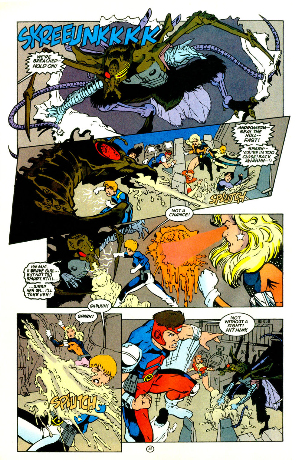 Legion of Super-Heroes (1989) 67 Page 14