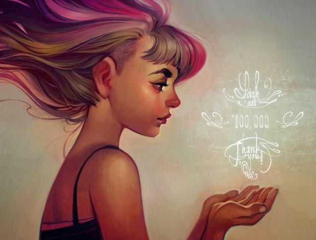 Hermosas ilustraciones por Loish de Holanda