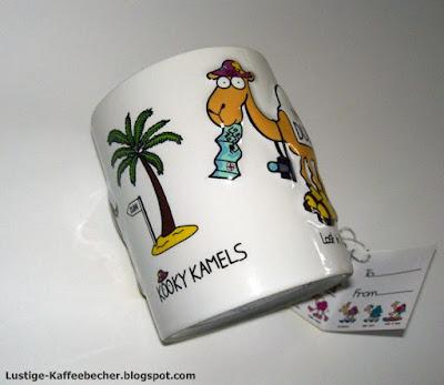 Kooky Kamels Kaffebecher